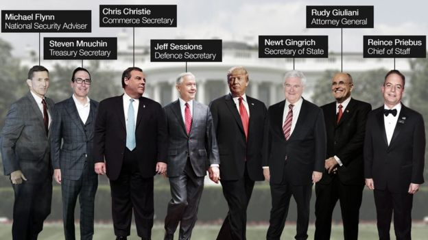 Donald Trump's possible cabinet – BBC | The European Post