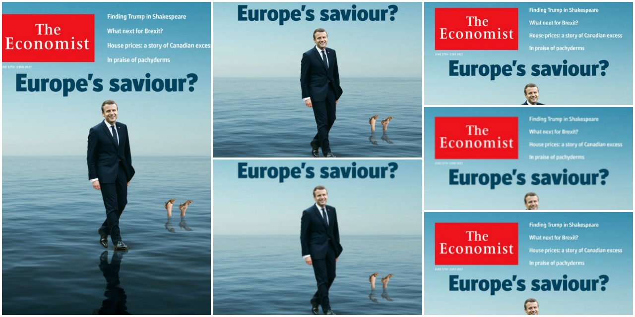 From Pro Europe To Nationalist The Double Face Of Emmanuel Macron The European Post
