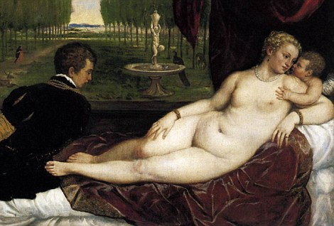 Chubby nude painting
